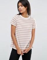 Asos Swing T-Shirt In Stripe