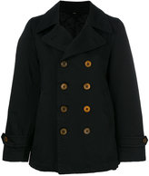 Comme des Garcons single breasted coats - women - Polyester - M