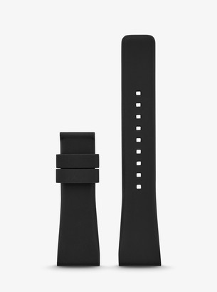 Michael Kors Gen 4 Bradshaw Silicone Smartwatch Strap