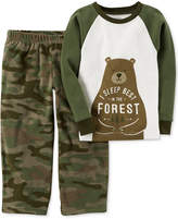 Carter's 2-Pc. Sleep Best In The Forest Pajama Set, Toddler Boys (2T-5T)