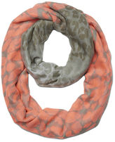 Nine West Leopard Infinity Scarf