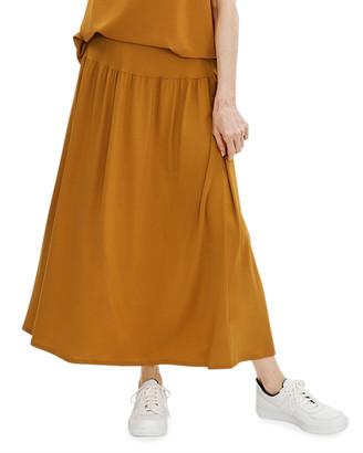 Eileen Fisher Petite Fine Jersey Flare Skirt