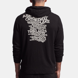 James Perse Aspen Trails Graphic Hoodie