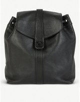 Vestiaire Collective Chanel logo-embellished leather backpack