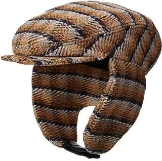 Maison Michel Wyatt striped beanie hat