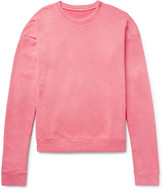 The Elder Statesman Oversized Loopback Cotton-Jersey Sweatshirt