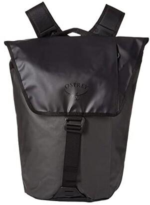 Osprey Transporter Flap Pack (Black) Backpack Bags