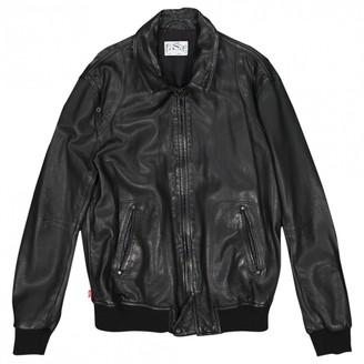 Levi's Black Leather Jackets