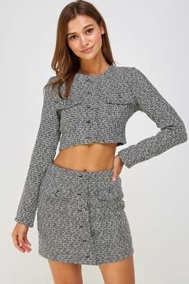 Wild Honey Tweed Skirt Set