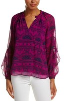 Alice & Trixie Silk Blouse.