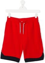 Little Marc Jacobs TEEN logo side panel track shorts