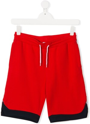 Little Marc Jacobs TEEN logo side panel track shorts
