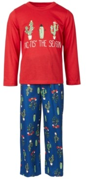 Family Pajamas Matching Kids Cactus The Season Family Pajama Set, Created for Macy's