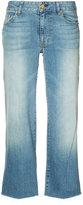 Nili Lotan wide leg cropped jeans