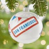 Crate & Barrel City San Francisco Ball Ornament