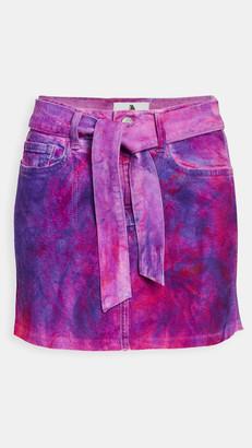 Jordache Cut Off Miniskirt