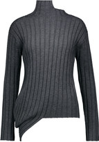 Joseph Asymmetric merino-wool sweater