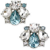 Charter Club Clear & Colored Crystal Stud Earrings, Only at Macy's