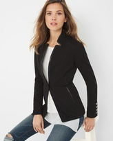 White House Black Market One-Button Jacket