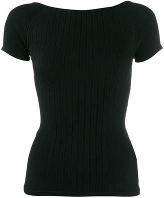 DSQUARED2 ribbed-knit top