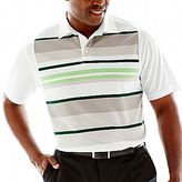PGA TOUR® Pinstriped Performance Polo Shirt-Big & Tall