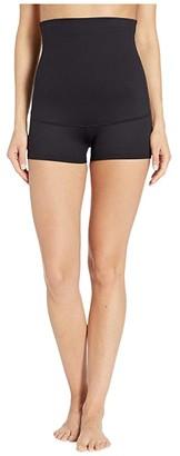 Maidenform Fat Free Dressing High Waist Boyshort (Black) Women's Underwear