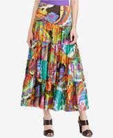 Lauren Ralph Lauren Petite Floral-Print A-Line Skirt
