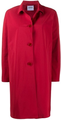 Aspesi Mostacciolo button-down car coat