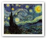 """McGaw Graphics The Starry Night by Vincent Van Gogh 23.25""""x29"""" Art Print Poster"""