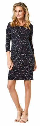 Noppies Women's Dress Jacquard 3/4 SLV Negin
