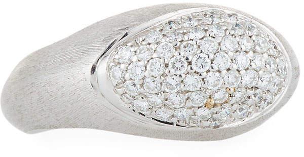 Marco Bicego Confetti 18k Pavé Diamond Ring, Size 7