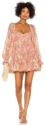 HEMANT AND NANDITA x REVOLVE Bloom Babydoll Dress