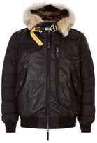 Parajumpers Grizzly Leather Puffer Jacket