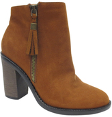 Dollhouse Brown Suspense Bootie
