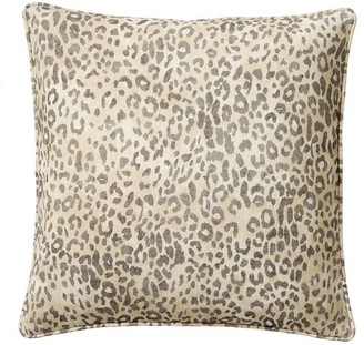 Pottery Barn Cheetah Printed Pillow Cover