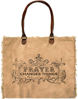 Vintage Addiction Camel Prayer Changes Things Market Tote