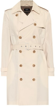 A.P.C. JosAphine cotton trench coat