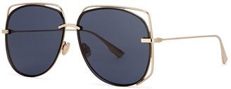 Christian Dior DiorStellaire6 Oval-frame Sunglasses