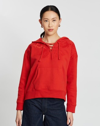 Levi's Made & Crafted Lace-Up Hoodie