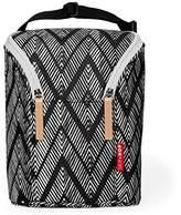 Skip Hop Grab and Go Double Bottle Bag- Zig Zag Zebra