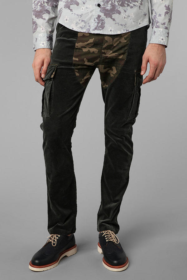 Urban Outfitters Oxford Lads Camo Block Cargo Pant