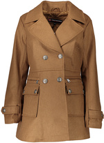 Urban Republic Camel Four-Pocket Peacoat