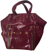 Saint Laurent Downtown bag in Plum