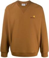 Carhartt Wip American Script branded sweatshirt