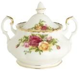 Royal Albert Old Country Roses 11 oz. Covered Sugar Bowl