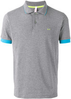 Sun 68 contrast polo shirt - men - Cotton/Spandex/Elastane - M