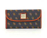 Dooney & Bourke Signature Greta Continental Clutch Wallet