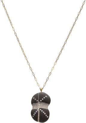 Cvc Stones 18kt yellow gold diamond Galactic necklace