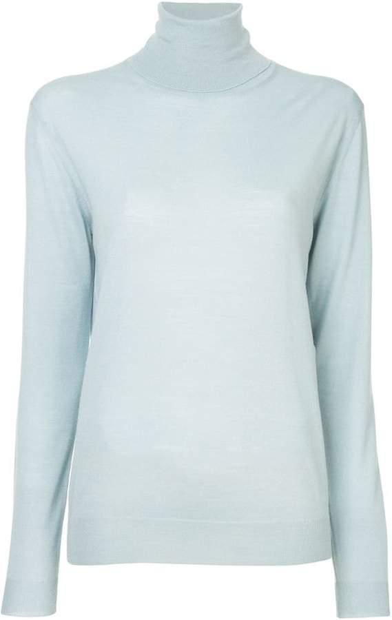 99a290a1e9f Stella McCartney Blue Women s Turleneck Sweaters - ShopStyle