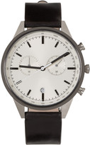 Uniform Wares Silver & Gunmetal C41 Watch